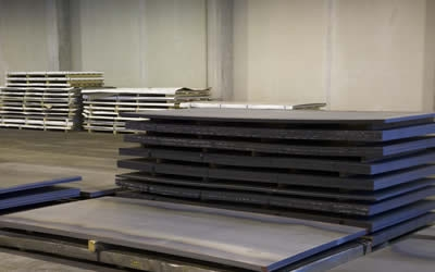 High temperature steel plates